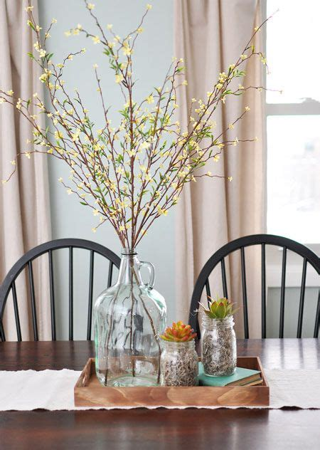 kitchen table decor ideas 17 best ideas about dining table centerpieces on