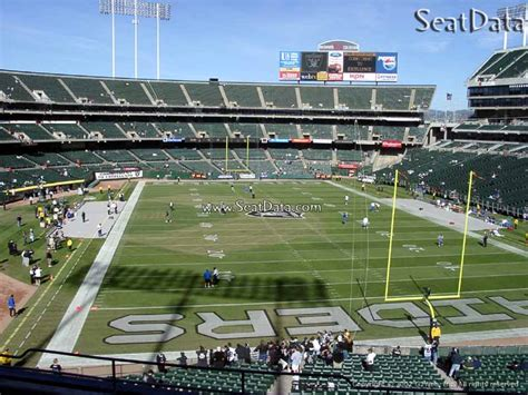 section 8 alameda county oakland coliseum section 207 oakland raiders