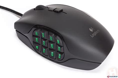 Mouse Gaming Logitech G600 logitech g600 mmo gaming mouse review twenty buttons
