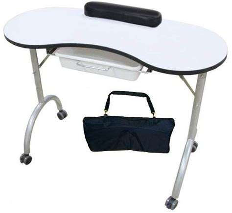 Nail Tech Table by Manicure Table Portable Nail Technician Desk Workstation