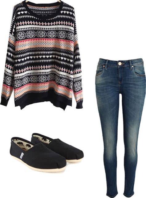 outift for summer fall winter oversized sweater by alyssakrause on polyvore clothes casual outift for