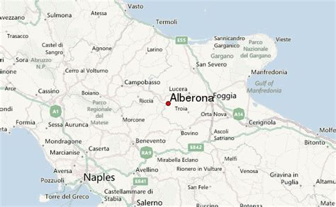 map of foggia italy alberona location guide