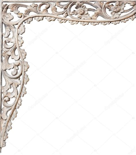 pattern of wood frame carved pattern of wood frame carving stock photo 59250803