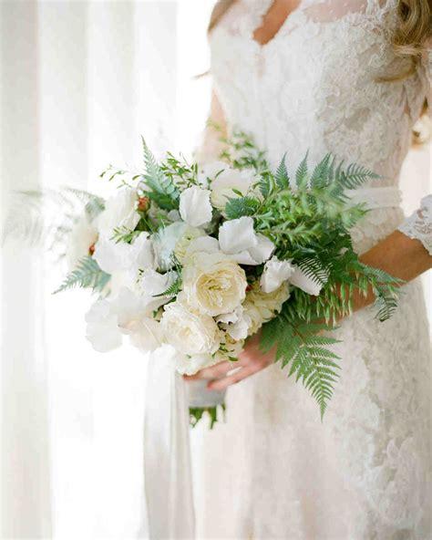 Wedding Bouquet Ferns by 20 Stunning Wedding Bouquets With Ferns Martha Stewart