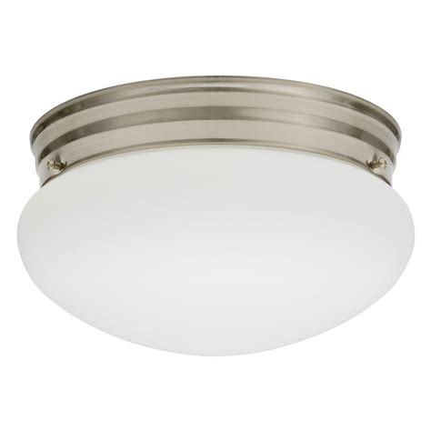 A Guide To Where Nickel Ceiling Lights Best Match Warisan Lighting Lithonia Lighting Essentials 1 Light Nickel Fluorescent Ceiling Light 10976 Bnp M4 The Home Depot