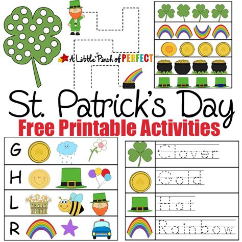 st s day printable and activities for st s day free printable activities