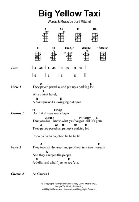 strumming pattern to yellow by coldplay ukulele yellow ukulele chords yellow ukulele chords in