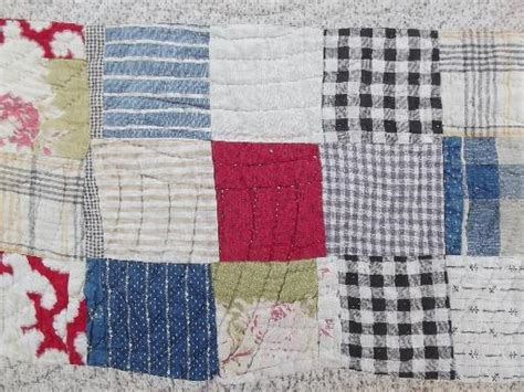 Patchwork Quilt Cutters - antique patchwork quilts shabby cutter quilt lot for