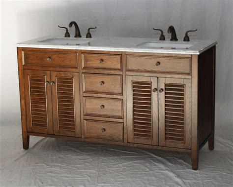 bathroom vanities beach cottage style 60 inch brown coastal beach style bathroom vanity walnut