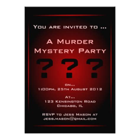 template murder mystery card murder mystery invitations template invitations ideas