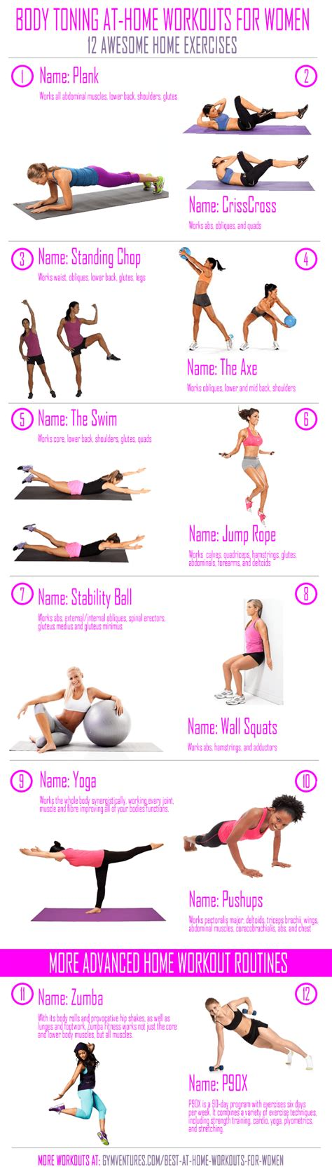 at home workouts for 12 best home exercises