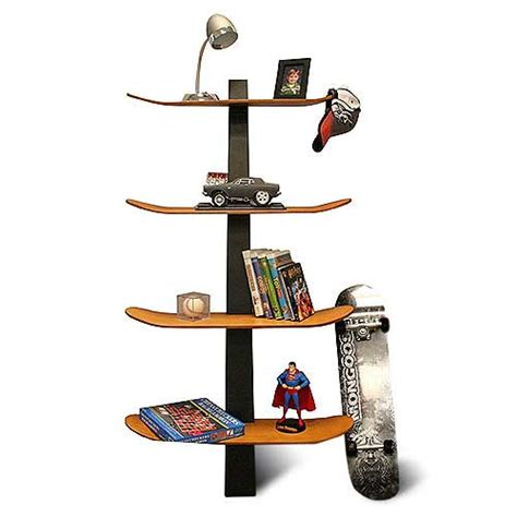 skateboard shelf freshome