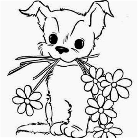 coloring pages of little dogs free coloring pages of little puppy
