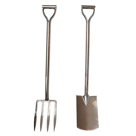 Jewelry Armoires On Sale Chrome Plated Pitchfork And Shovel On Antique Row West