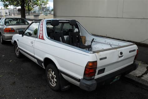 old subaru brat old parked cars 1983 subaru brat gl