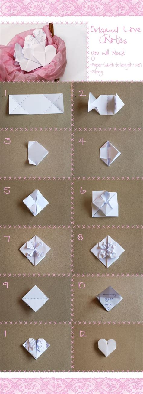 tutorial origami love origami make an origami heart kidspot how to make d