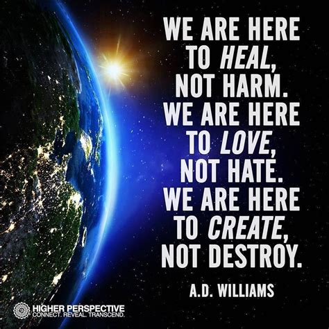 one here something to think about heal the world it is