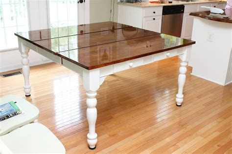 refinish your kitchen table kitchen remodel ideas pinterest