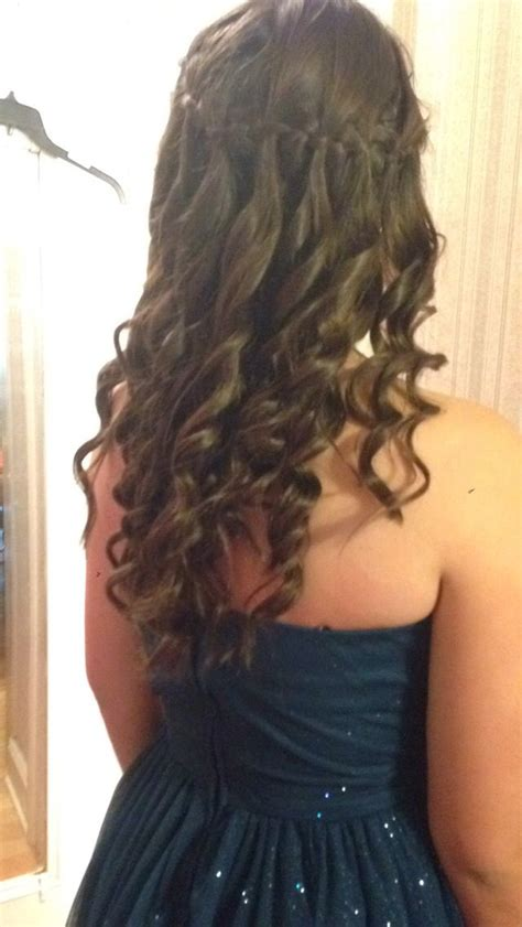 hairstyles for eighth grade graduation 37 best images about grad hair on pinterest waterfall