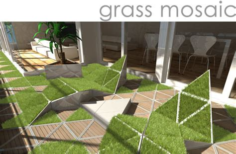 Grass Interior Design by Rethinking Balconies Design Milk