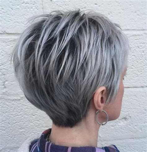 silver white low lites in shag hair styles short pixie cuts for 2018 everything you should know