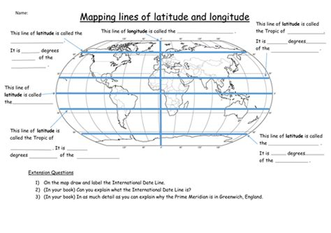 globe maps and lines of latitude worksheet latitude and longitude worksheet by katie maria teaching