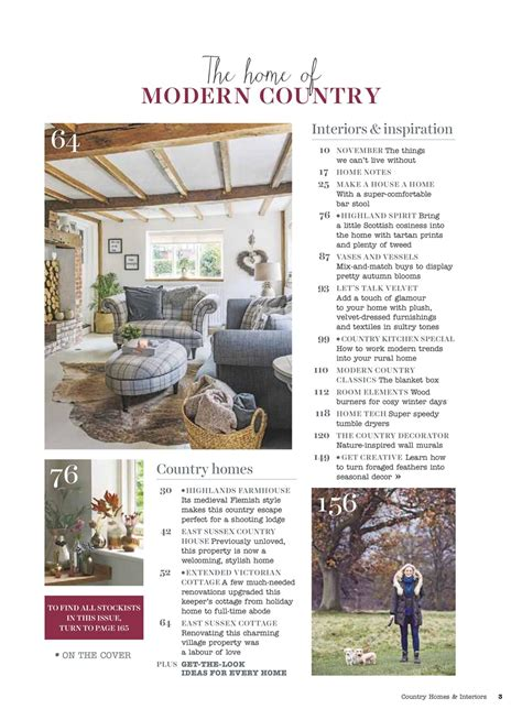 country homes and interiors magazine 2018 country homes interiors magazine november 2018 subscriptions pocketmags