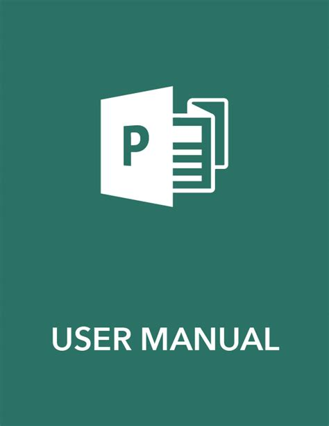 manual template word 6 free user manual templates excel pdf formats