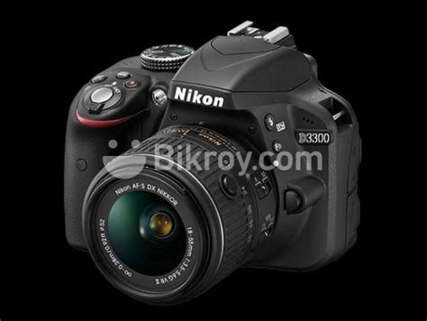 Nikon D3300 DSLR Camera With 18.55 Lens Price: 34,000