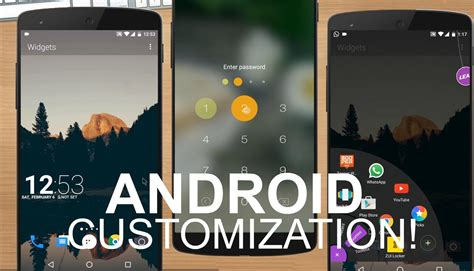 android customization 6 best apps to customize your android device