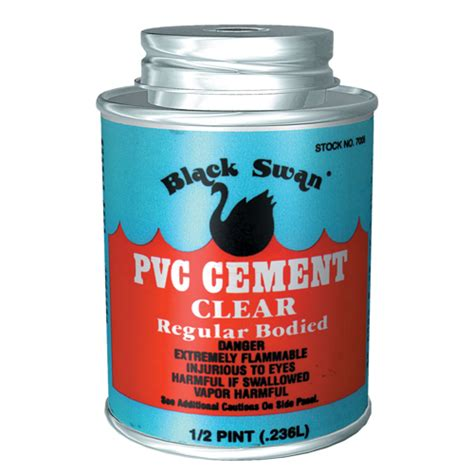Plumbing Glue by Black Swan Pvc Cement Clear Solvent Weld Glue Pvc1