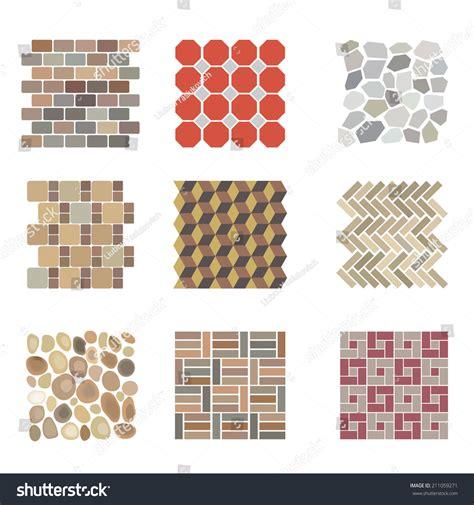 design elements tile detailed landscape design elements make your stock vector