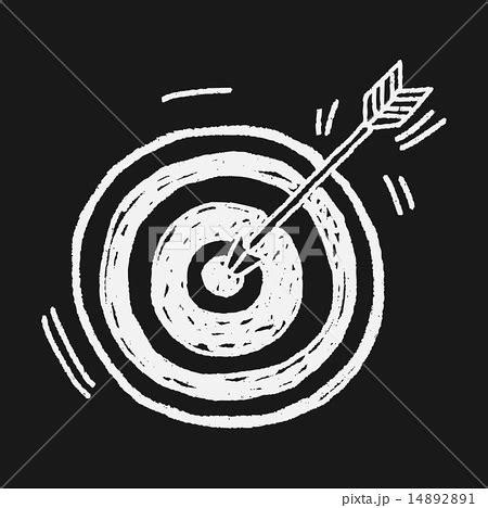 archery doodle doodle archeryのイラスト素材 14892891 pixta