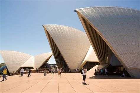 sydney opera house designed by j 248 rn utzon s iconic design for sydney s opera house