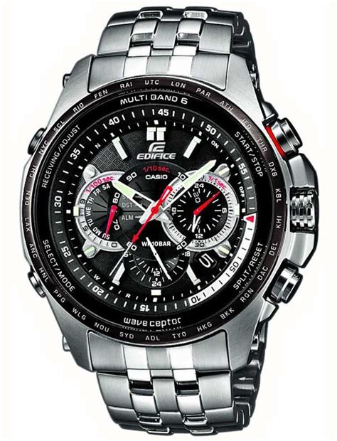 casio edifice wave ceptor pilots model eqw mdb aer  class watches