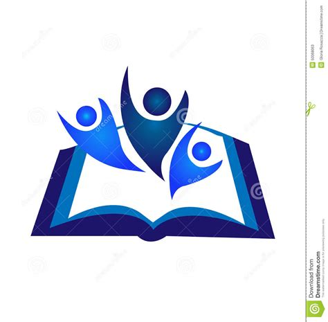 libro logo design love a logotipo del libro del trabajo en equipo ilustraci 243 n del vector imagen 50068063