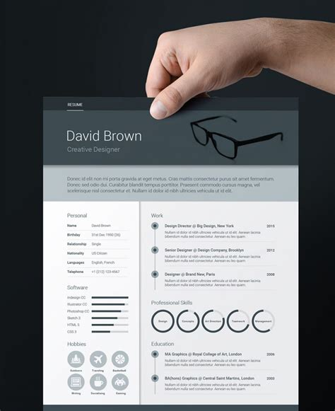Adobe Indesign Resume Template by 75 Best Free Resume Templates For 2018 Updated