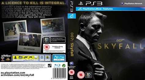Resume 007 Skyfall by Xbox One Cover Template Gallery Template Design Ideas