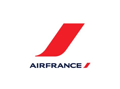 United Airlines American Airlines by Air France Logo Logok
