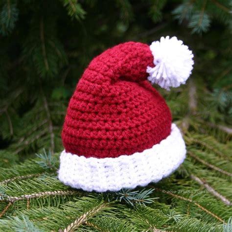 best 25 crochet santa hat ideas on pinterest crochet
