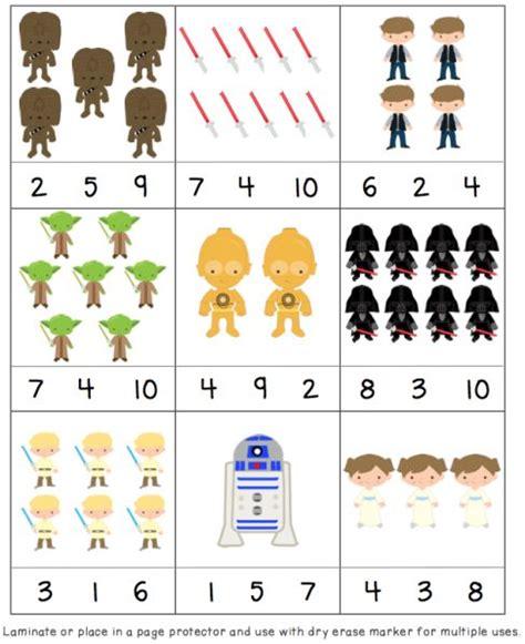 printable star numbers star wars printable pack preschool printables and star