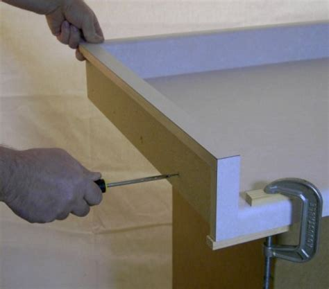 Countertop End Cap Installation by Mal O Sen Co Inc On How To Apply An End