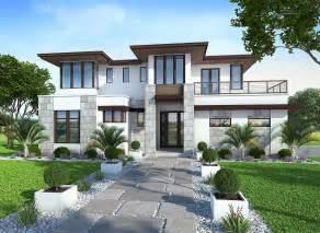 house plans with balcony on second floor spacious upscale contemporary with multiple second floor balconies 86033bw 2nd floor master