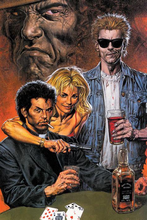 Preacher Book Three Buy In Garth Ennis And Steve Dillon S Preacher Officially Heading To Amc Superherohype