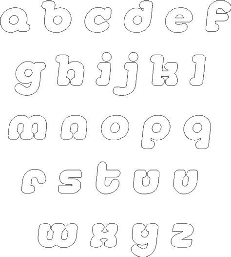 alphabet letters template frugal scrapbooker alphabet templates