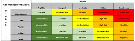 risk matrix template project management coso risk matrix pictures to pin on