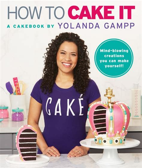 books on how to a how to cake it yolanda gp hardcover