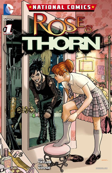 national comics rose and thorn vol 1 1 dc database wikia