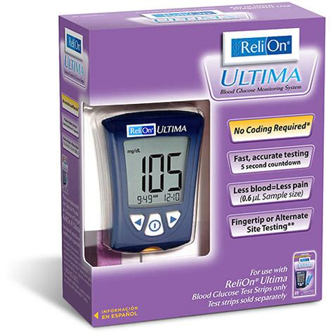Monitor Lcd Relion review of relion ultima blood glucose monitor