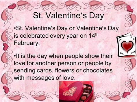 st valentines day history the history of st valentine s day ppt